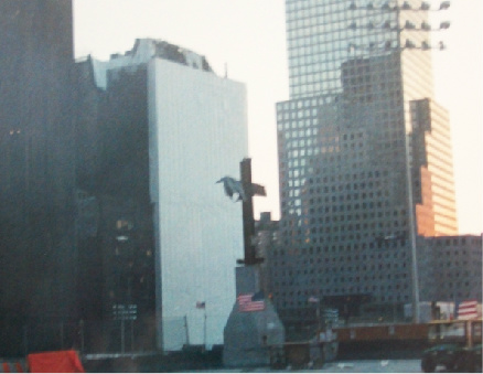 The Cross at Ground Zero in June 2002