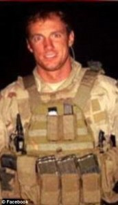 Chief Petty Officer Aaron Carson Vaughn of SEAL Team VI